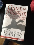 Storm of Swords Part One by George RR Martin (A Song of Ice and Fire Book 3)